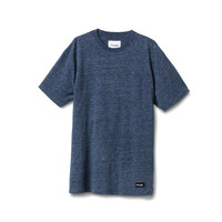 Hookie Pocket Tee in Heather Navy