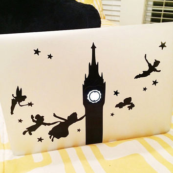 Peter Pan Macbook Decal
