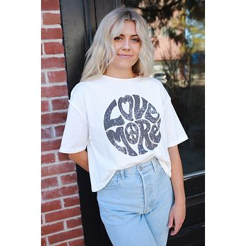 Love More Graphic Tee