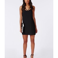 Missguided - Strappy Cami Dress Black