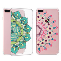 Cute Sunflower Stone iPhone 7 7Plus & iPhone se 5s 6 6 Plus Case Cover +Gift Box-91