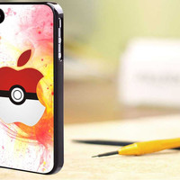 pokemon ball - for iPhone 4/4s, iPhone 5/5s/5c, Samsung S3 i9300, Samsung S4 i9500 Hot Edition narcoba