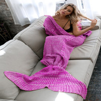 Hot Deal Winter Mermaid Blanket [9068156804]