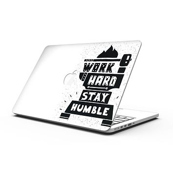 Work Hard Stay Humble - MacBook Pro with Retina Display Full-Coverage Skin Kit