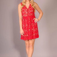 Dancing Under the Stars Dress - Red