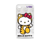 Tribeca Gear FVA7010 Hard Shell Case for iPhone 4 -  Hello Kitty - Louisiana State University - 1 Pack - Retail Packaging - White