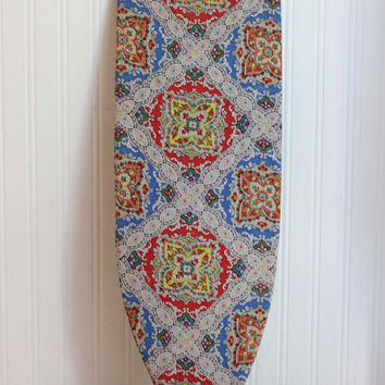 Retro 1970s The Space Saver Ironing Board - Vintage Boho