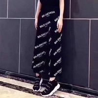Balenciaga Fashion Loose Pants Trousers Sweatpants
