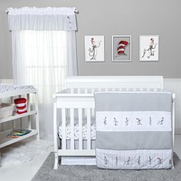 Baby Bedding Sets  - Dr. Seuss The Cat in the Hat Comes Back 4 Piece Bedding Sets Set
