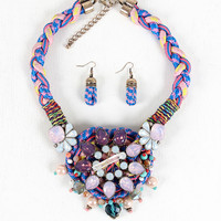 Crystallized Statement Necklace
