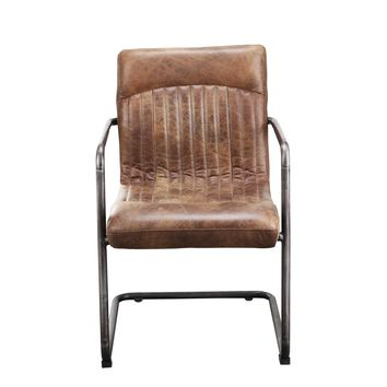 Ansel Arm Chair Light Brown-Set Of Two