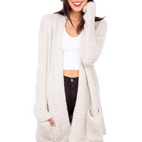 Wooly Knit Cardigan