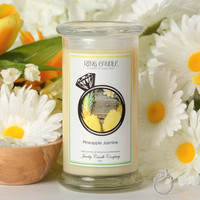 Pineapple Jasmine Ring Candle