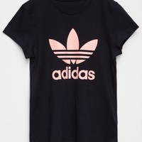 ADIDAS Trefoil Girls Tee | Graphic Tees