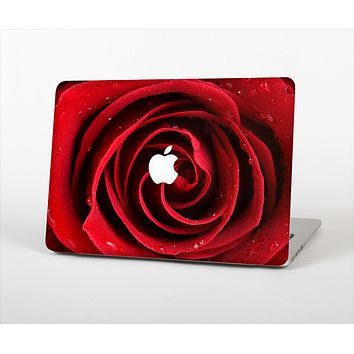 """The Layered Red Rose Skin Set for the Apple MacBook Pro 13"""" with Retina Display"""
