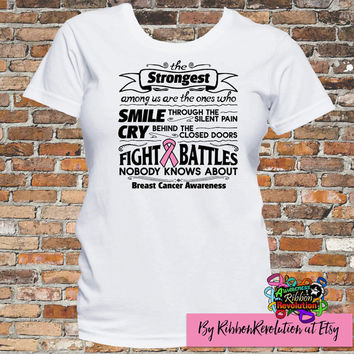 Breast Cancer Strongest Among Us T-Shirt