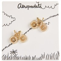 Single Bicycle Earrings