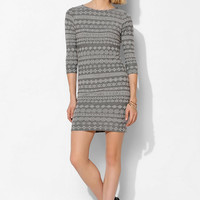 Staring At Stars Jacquard Knit Bodycon Dress - Urban Outfitters