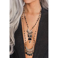Miller Multi Tier Necklace (Silver)