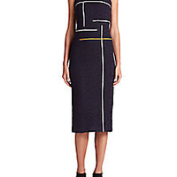 Yigal Azrouel - Embroidered Tulle Sheath - Saks Fifth Avenue Mobile