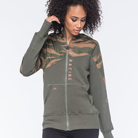 Fox Vicious Womens Hoodie Olive  In Sizes