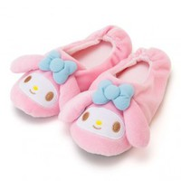 My Melody Room Slippers: D-Cut - The Kitty Shop