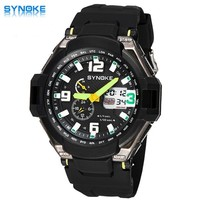 Dual Timezone Watch s And s Cool Watches 30M Waterproof Backlight Calendar Alarm Clock Stopwatch Multi-Functional Watches