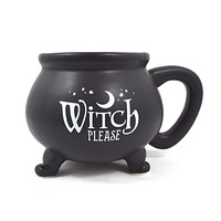 Witch Please cauldron Mug Cup - Witch Wicca Gothic Gift
