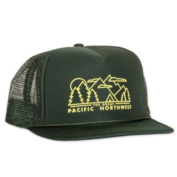 Evergreen Trucker Hat