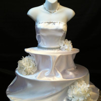 Couture Bridal Cupcake Stand by theEventFairy on Etsy