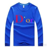 DCCKHB0 Dior Casual Long Sleeve Top Sweater Pullover