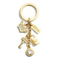 Coach :: New Crown Multi Mix Key Ring