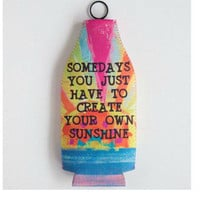 Natural Life Bottle Cozy - Some Days