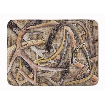 Deer Horns Machine Washable Memory Foam Mat 8732RUG
