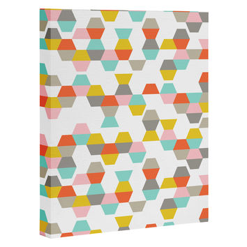 Heather Dutton Hex Code Art Canvas