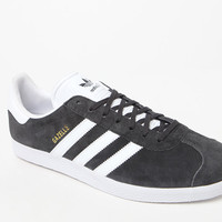 adidas Gazelle Grey and White Shoes at PacSun.com