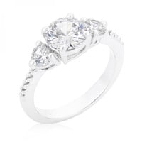 Graduated Engagement Classic Ring