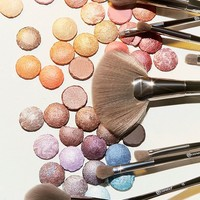 bh cosmetics Smoke 'N Mirrors 10 Piece Metalized Brush Set   Urban Outfitters