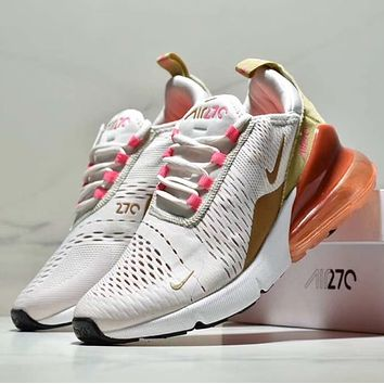 shosouvenir :Nike Air Max 270 Trending Women Men Personality Air Cushion Sport Running Shoe