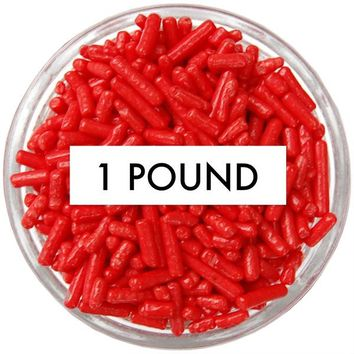 Red Jimmies 1 LB