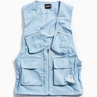 AJOBYAJO Twill Cargo Vest | Urban Outfitters