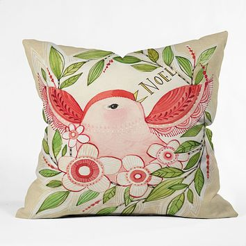 Cori Dantini Noel Outdoor Throw Pillow