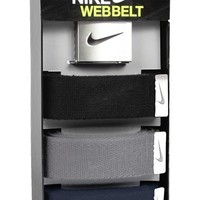 Men's Nike Web Belts (Assorted 3-Pack)