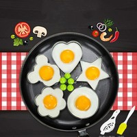 Stainless Steel Fried Egg Shaper Pancake Mould Mold Kitchen Cooking Tools