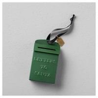 Mailbox Letters to Santa Ornament - Green - Hearth & Hand™ with Magnolia