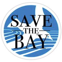'Save the Bay' Sticker by cmbuerg43