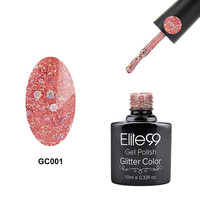 Elite99 Diamond Glitter Long-Lasting Soak Off UV Nail Polish 10ml