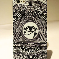 Totem Triangle Hard Cover Case For Iphone 5