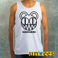 Radiohead Band Logo Clothing Tank Top For Mens