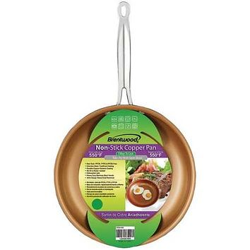 Brentwood Appliances BFP-320C Non Stick Induction Copper Frying Pan (8 Inch)